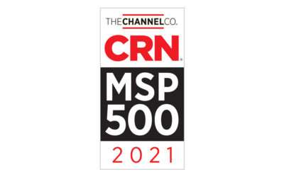 Custom Computer Specialists, Inc. Recognized on CRN's 2021 MSP500 list in the Security 100 category MSP500