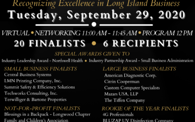 Custom Computer Specialists Named Large Business Finalist for a second year in a row in the Prestigious HIA-LI 26th Annual Business Achievement Awards